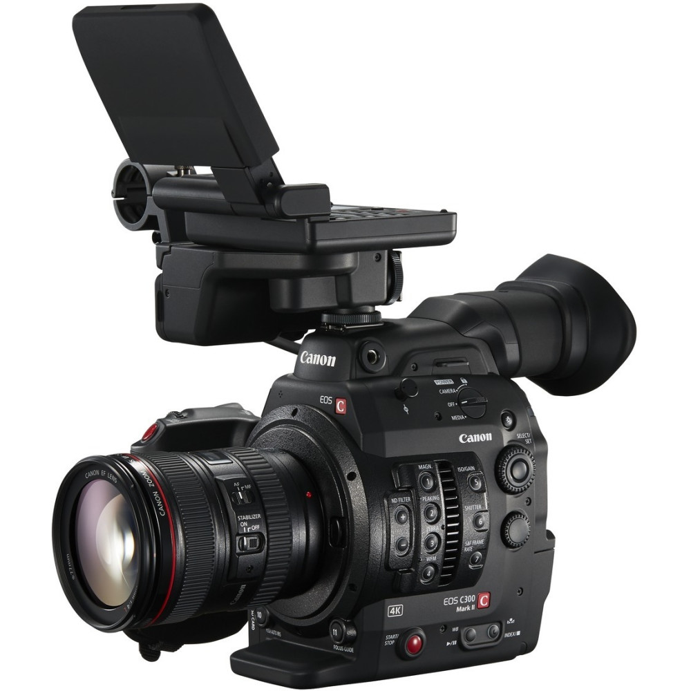 Canon C300 MKII Cinema Camcorder with Dual Pixel CMOS AF and EF Lens Mount