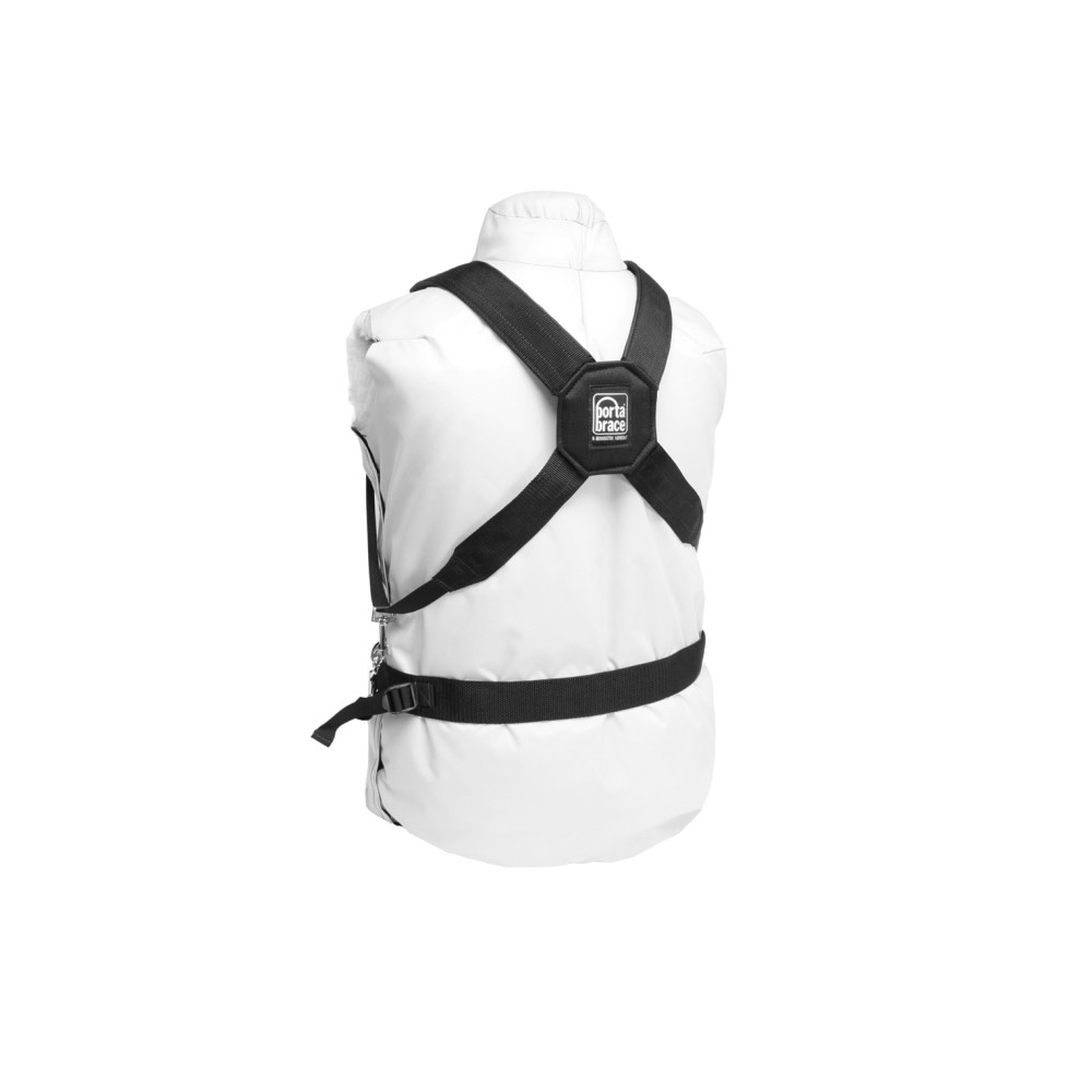 PortaBrace Durable Nylon DSLR Harness with Padded Back Cross-Section