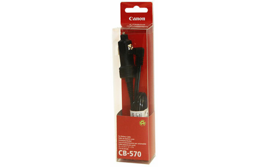 Canon Car Battery Cable CB-570